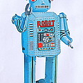Wind-up Robot by Glenda Zuckerman