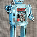 Wind-up Robot 2 by Glenda Zuckerman