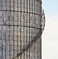 Winding Aluminum Stairs by Ryan McGinnis