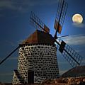 Windmill Against Sky by Ernie Watchorn