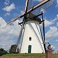 Windmill And Blue Sky by Carol Groenen