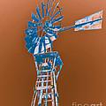 Windmill Blue by Rebecca Margraf