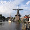 Windmill In The Nederlands by Karen Molenaar Terrell