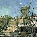 Windmill On Montmartre by Vincent Van Gogh