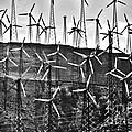 Windmills By Tehachapi  by Susanne Van Hulst