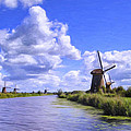 Windmills In Holland by Dominic Piperata