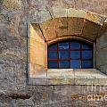 Window Detail At Carmel by Bob Christopher