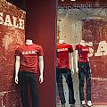 Window Display Sale With Mannequins No.0112 by Randall Nyhof