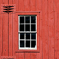 Window In Red Wall by Sabrina L Ryan