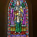 Window In Trinity Church V by Steven Ainsworth