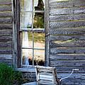Window On Prairie Life by Judy Hall-Folde