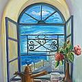 window to Jaffa by Sara Kesar