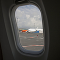 Window View On An Airplane by Jaak Nilson