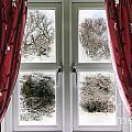 Window View To A Snow Scene by Simon Bratt Photography LRPS