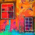 Window Watching  Outside Looking In by Angela L Walker