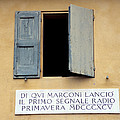 Window Where Marconi Transmitted Radio by Sheila Terry