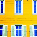 Windows On Yellow by Randall Weidner