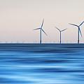 Windturbines, Burbo Bank, Crosby by Ian Moran