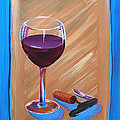 Wine And Cork by Michael Baum