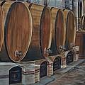 Wine Barrels by Dany Lison