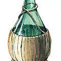 Wine Bottle by Olin  McKay