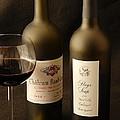 Wine Bottles by David Campione