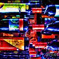 Wine Bottles by Joan  Minchak
