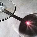 Wine Glass Reflection by Anna Villarreal Garbis