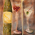 Wine Or Martini? by Chuck Gebhardt