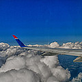 Wing And Clouds by Robert Swinson