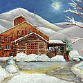 Winter At The Cabin by Portraits By NC