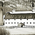 Winter Barn 2 by Marilyn Hunt