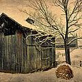 Winter Barn by Todd Hostetter