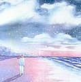 Winter Beach Walk by Joseph Gallant