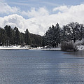 Winter By The Lake by Priscilla Monger