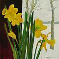 Winter Daffodils by Lauren Everett Finn