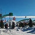 Winter Fun Quebec City by Donna Sherbert