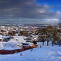 Winter In Inverness by Joe Macrae