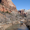 Winter In Zion 2 by Bob and Nancy Kendrick