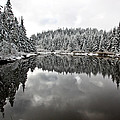 Winter Reflection by Dave Lines