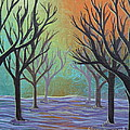 Winter Solitude 11 by Jacqueline Athmann