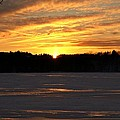 Winter Sunset II by Joe Faherty