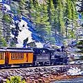 Winter Train by Jeffrey Kolker