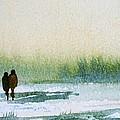 Winter Walk by Trudy Kepke