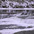 Winter Waterfalls by Josef Pittner