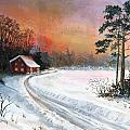 Winters Glow by Rita Smith