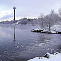 Wintry Tampere by Sami Tiainen
