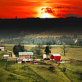 Wisconsin Farm by Randall Branham