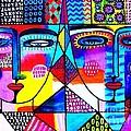 Wisdom Fractal Goddesses by Sandra Silberzweig