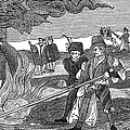Witch Burning, 1555 by Granger